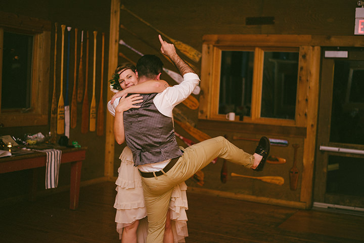 Canadian Camp Wedding dance fun in two Parts By ME Creative