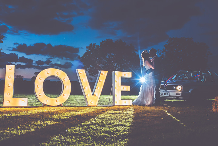Retro Village Fete Love Lights Wedding By Tom Halliday