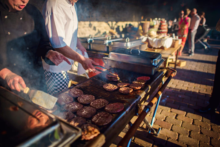 Homespun Barn Wedding BBQ at Elmley Nature Reserve in Kent By Photography By Vicki