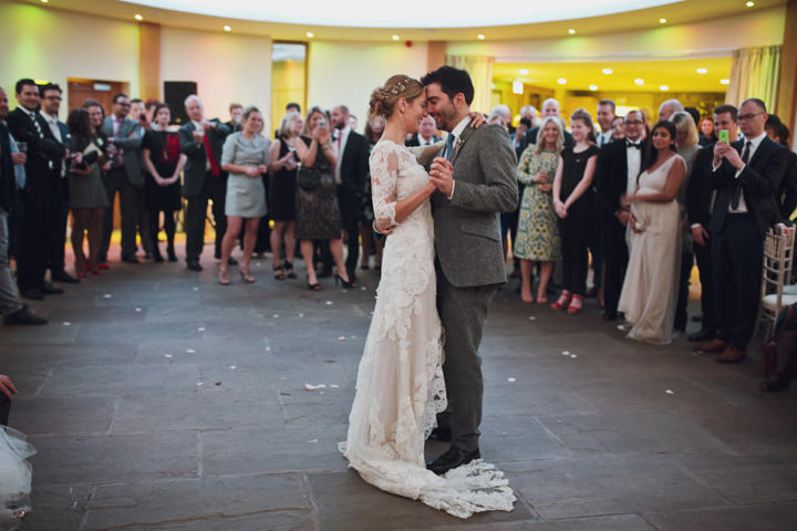Rustic Winter Wedding first dance By Mark Tattersall