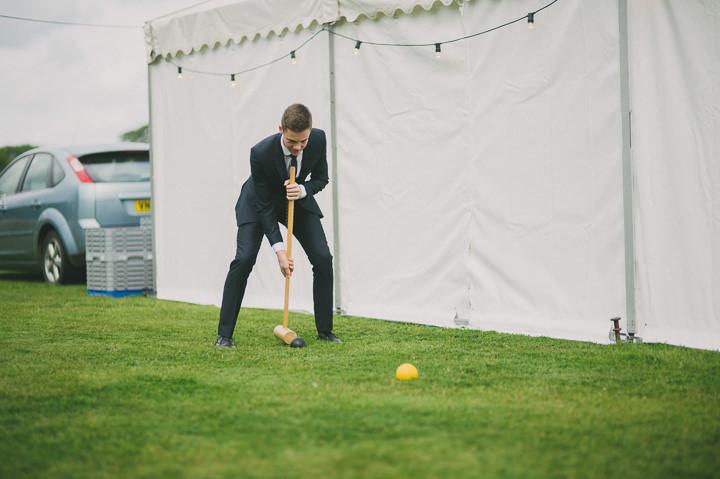 Somerset Wedding garden games By John Barwood Photography