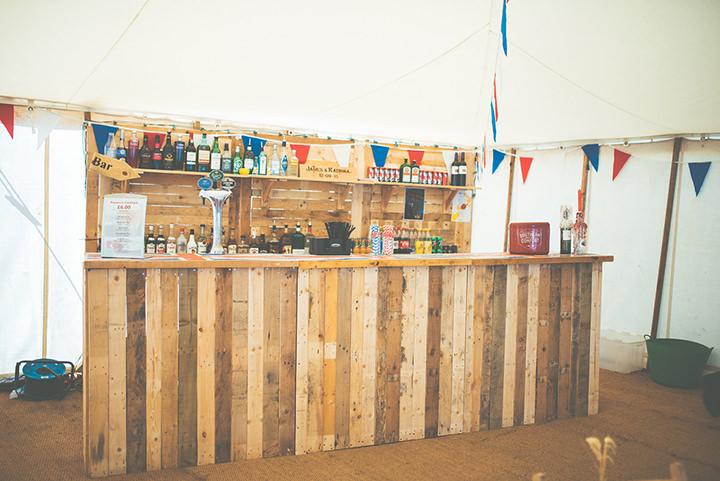Retro Village Fete Wedding bar By Tom Halliday
