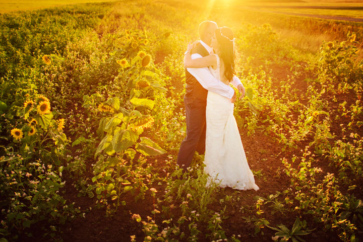 Homespun Barn Wedding at Elmley Nature Reserve golden hour in Kent By Photography By Vicki