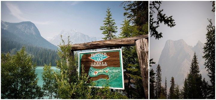 Beautiful Mountain Elopement Emerald Lake By Kim Payant Photography