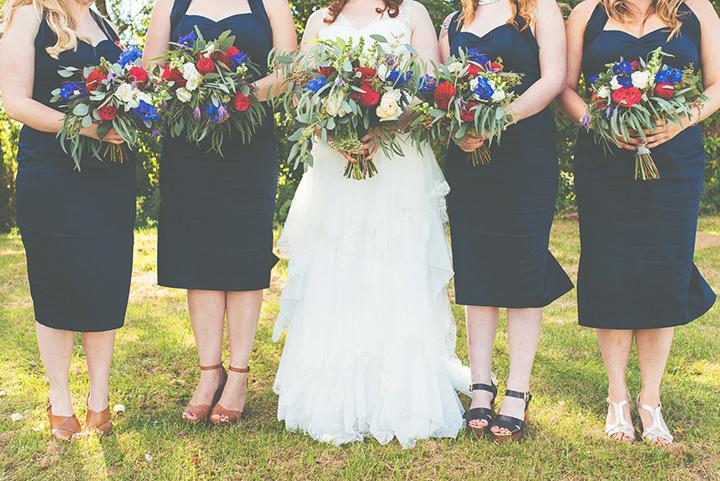Retro Village Fete Wedding bouquets By Tom Halliday