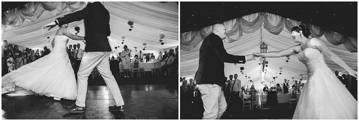 Somerset Wedding first dance By John Barwood Photography