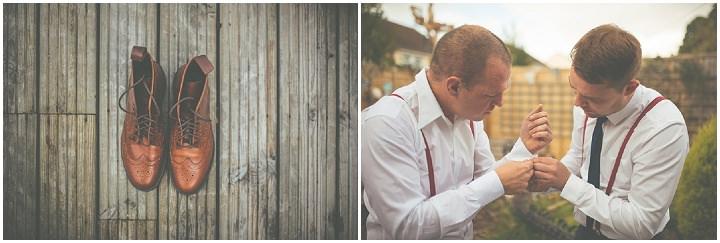 Retro Village Fete Wedding groom By Tom Halliday
