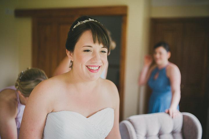 Somerset Wedding bride By John Barwood Photography