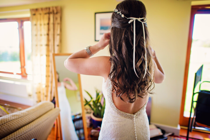 Homespun Barn Wedding at Elmley Nature Reserve Boho Bride in Kent By Photography By Vicki