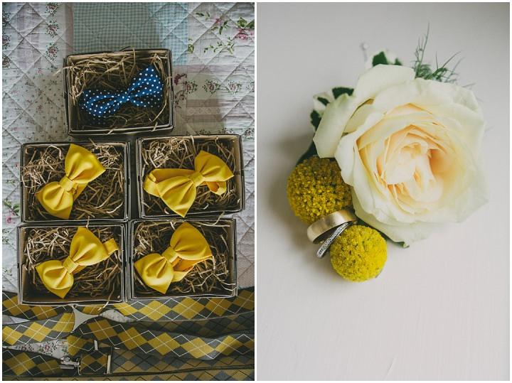 Somerset Wedding bow tie By John Barwood Photography