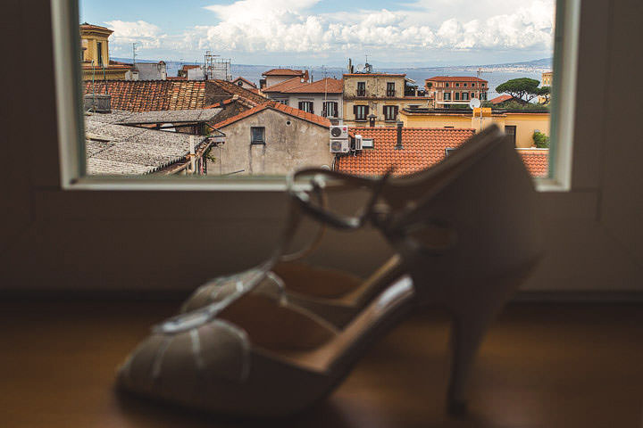 Sorrento Wedding Rachel Simpson Shoes By S6 Photography