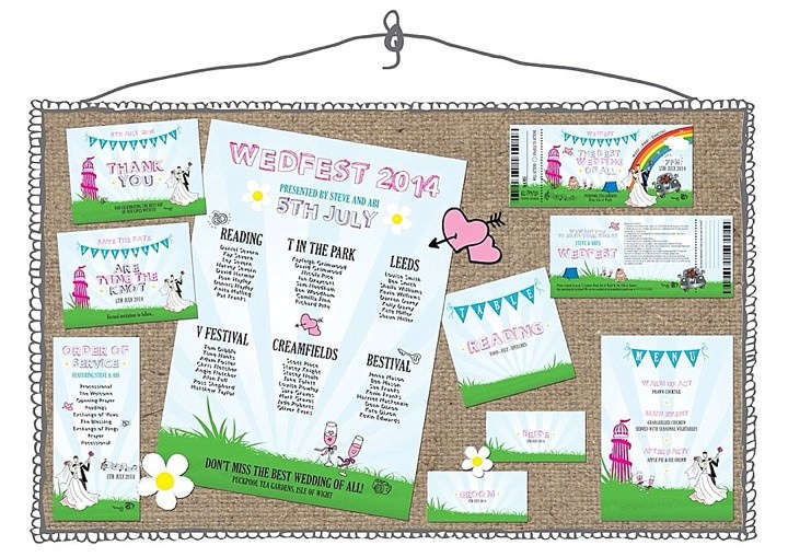 Boho Loves: The Invite Shack - Award Winning Wedding Invitation Designer