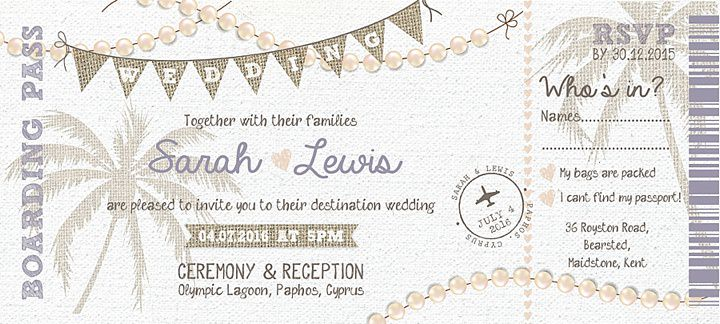 Boho Loves: The Invite Shack - Award Winning Invitation Designer