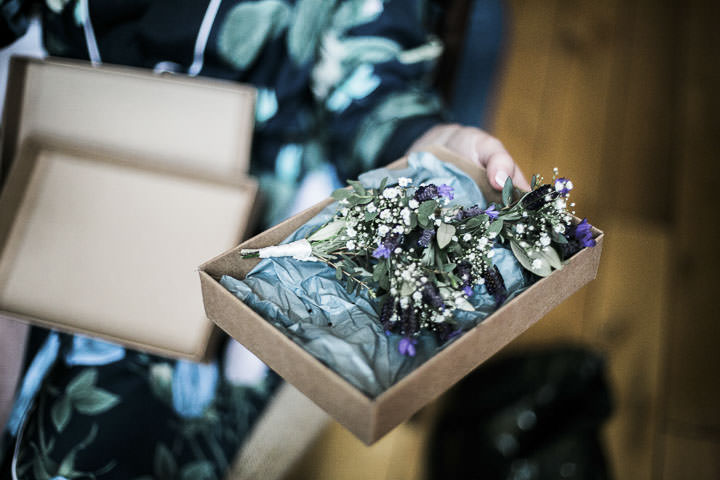 Wedding buttonhole at Bethnal Green Town Hall Hotel By Samie Lee Photography