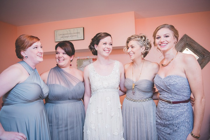 Wedding bridal party in Pennsylvania By BG Productions