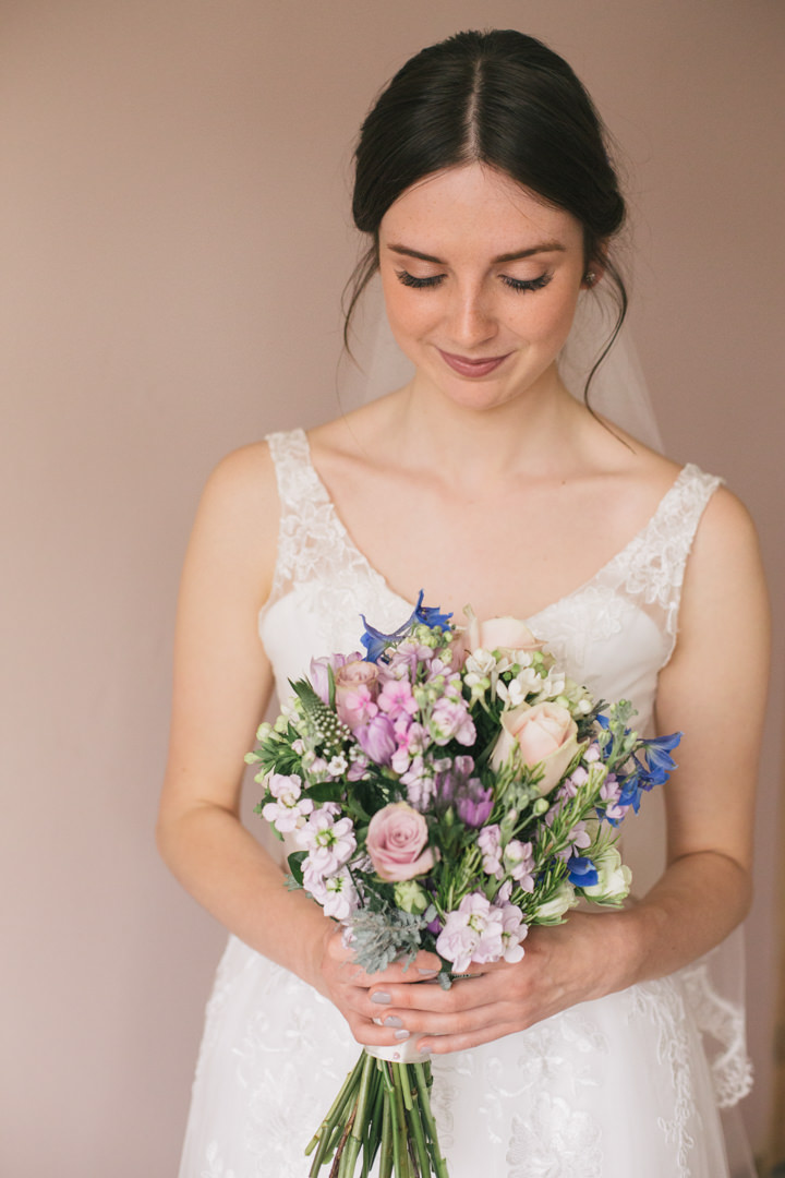 Summer Wedding bride in Nottingham By Grace Elizabeth Photography