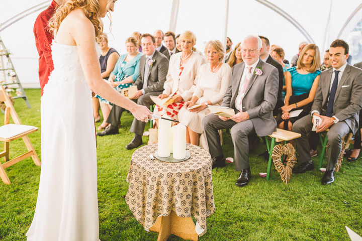 Kent Barn Wedding candle By One Love Pictures