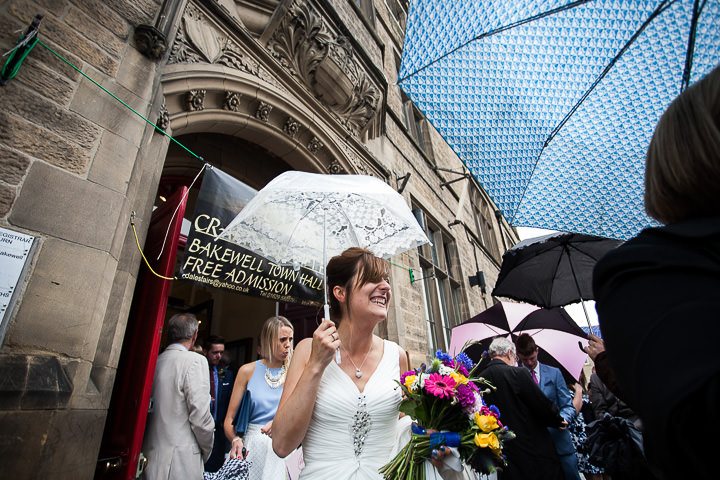 Fete Themed Wedding in the rain Bakewell By Ayesha Photography