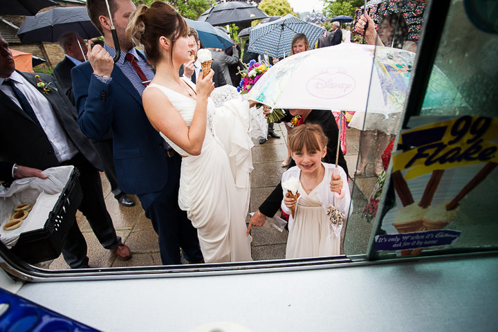 Fete Themed Wedding ice cream in Bakewell By Ayesha Photography