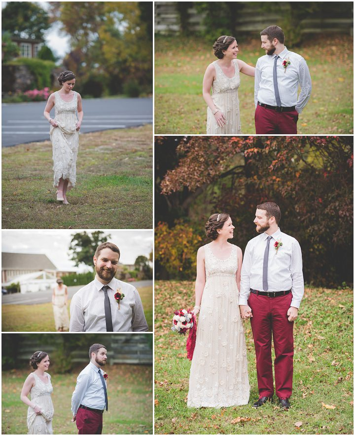 Wedding first look in Pennsylvania By BG Productions