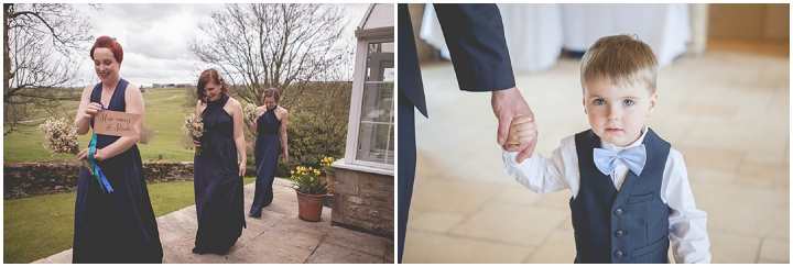 Cotswolds Barn Wedding bridal party By Claire Basiuk Photography