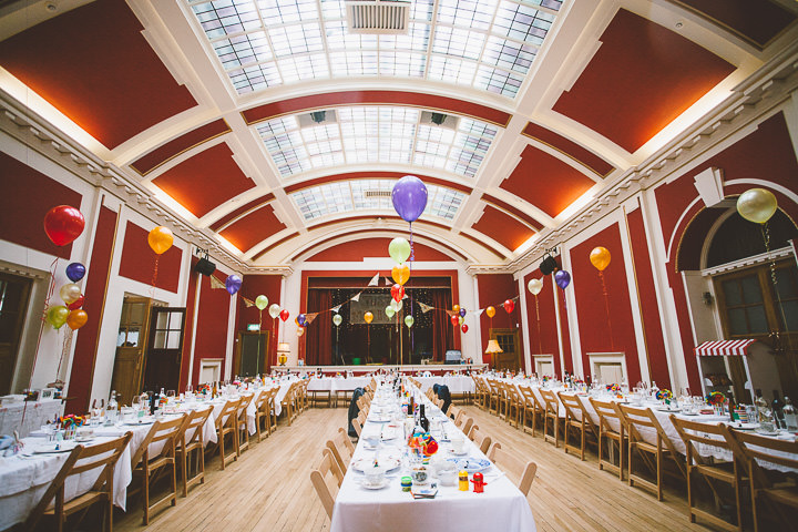 Fete Themed Wedding reception setting in Bakewell By Ayesha Photography