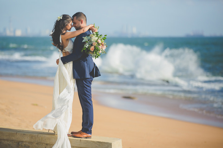 Sri Lanka Wedding on the beach By Cloud Attic Photography