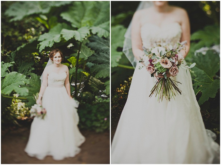 Wedding bouquet at Quarry Bank Mill By Igor Demba Photography