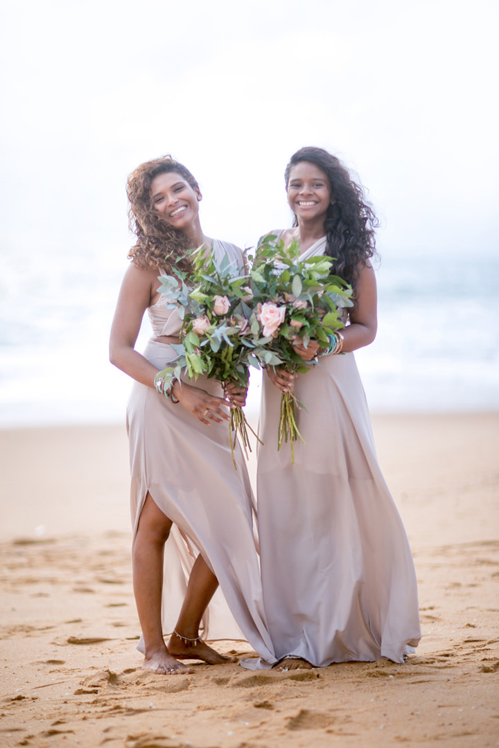 Sri Lanka Wedding bridesmaids By Cloud Attic Photography