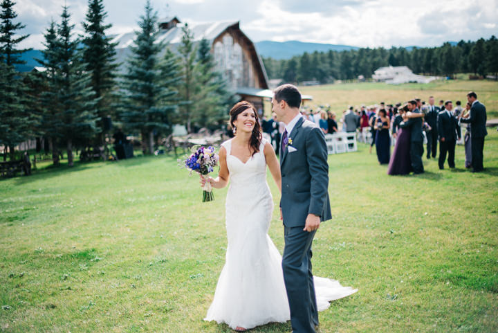 Colorado Barn Wedding By Searching For The Light just married