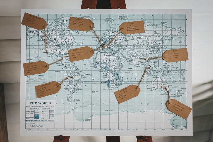 Wedding table plan By Helen Lisk Photography at the fabulous Tunnels Beaches