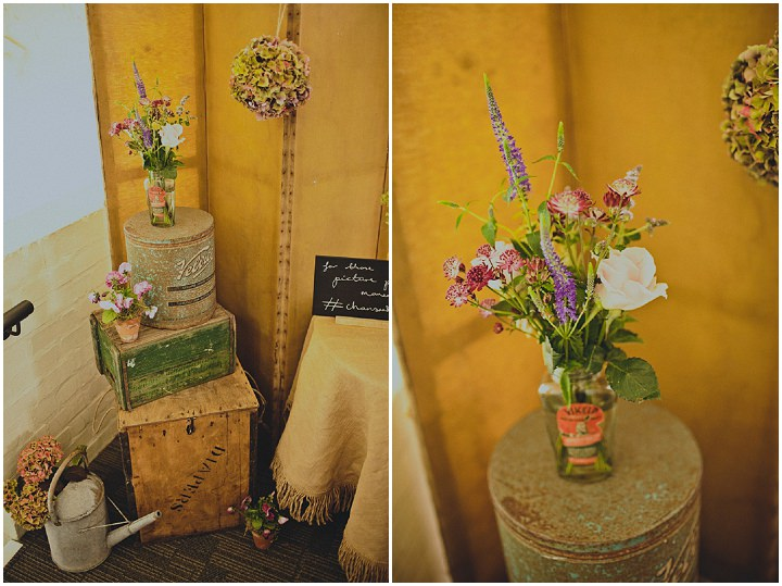 Wedding flowers at Quarry Bank Mill By Igor Demba Photography