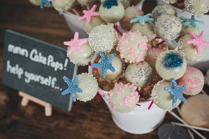 Wedding By Helen Lisk Photography at the fabulous Tunnels Beaches cake pop