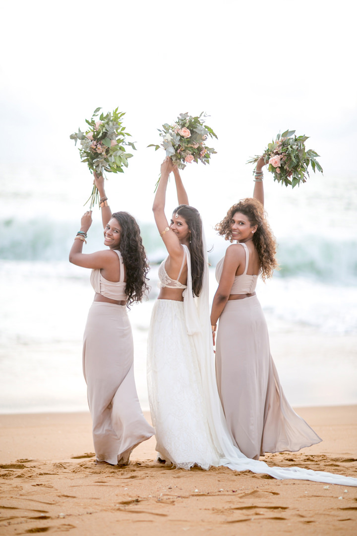 Sri Lanka Wedding bridal party By Cloud Attic Photography