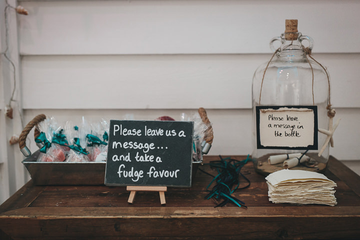 Wedding message in a bottle By Helen Lisk Photography at the fabulous Tunnels Beaches