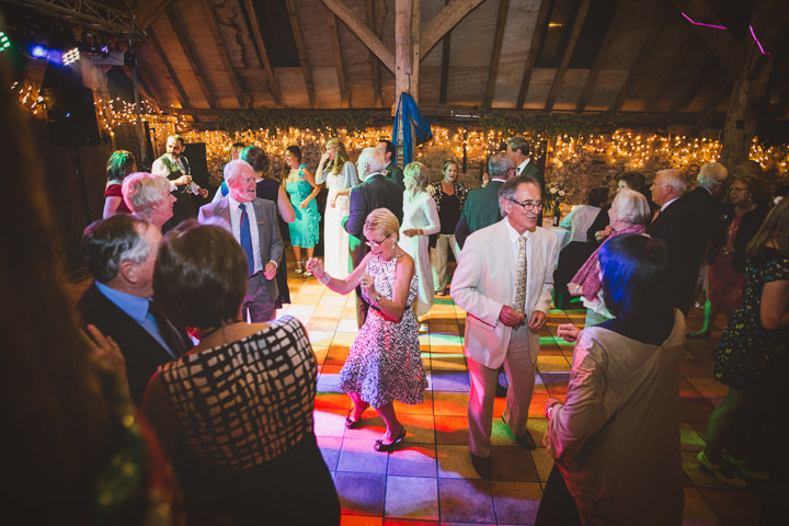 Kent Barn Wedding evening reception By One Love Pictures