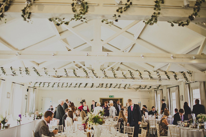 Wedding reception setting at Quarry Bank Mill By Igor Demba Photography