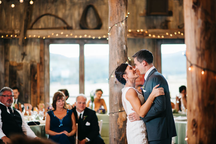 Colorado Barn first dance Wedding By Searching For The Light