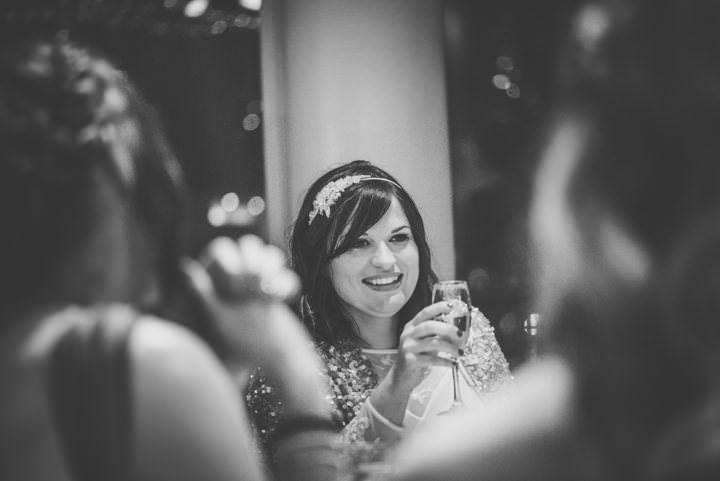 Wedding bride at The Lowry By Nicola Thompson Photography