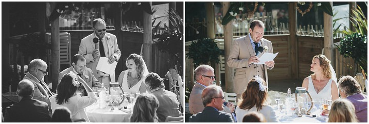 Wedding By Helen Lisk Photography at the fabulous Tunnels Beaches speeches