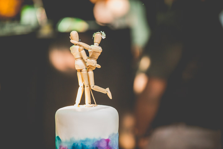 Sri Lanka Wedding cake topper By Cloud Attic Photography