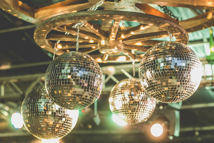 Sri Lanka Wedding disco balls By Cloud Attic Photography