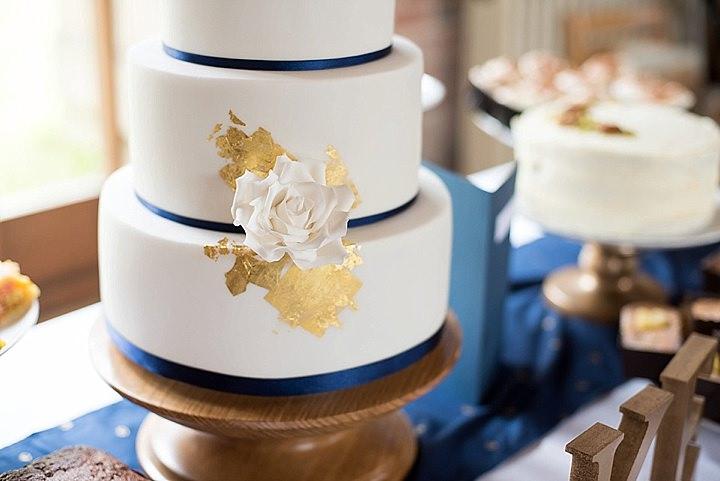 Manor Barn wedding cake in Petersfield Wedding By Fiona Kelly Photography