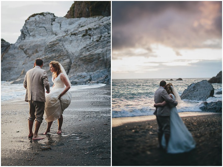 Wedding By Helen Lisk Photography at the fabulous Tunnels Beaches sunset