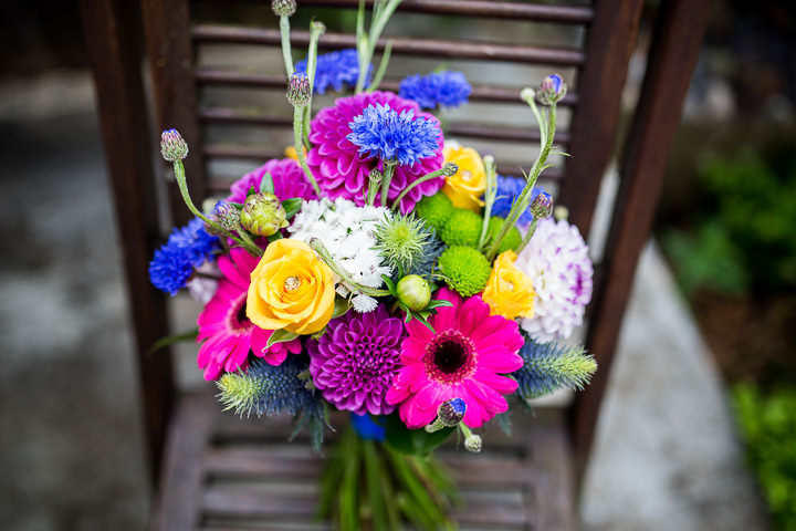 Fete Themed Wedding flower bouquet in Bakewell By Ayesha Photography