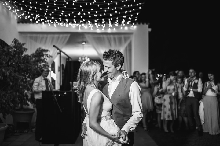 Whimsical Woodland Spanish Wedding first dance By Radka Horvath Photography