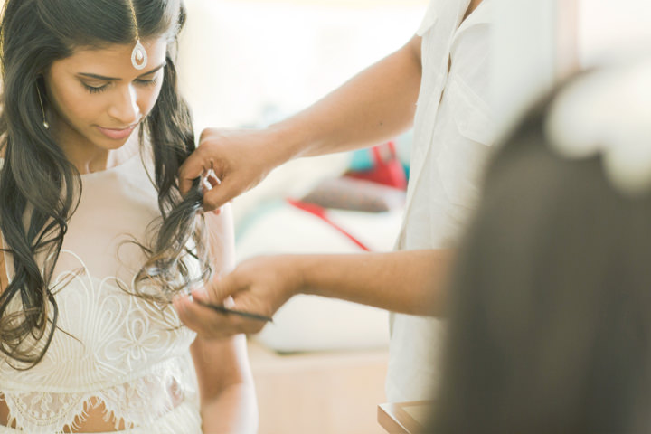 Sri Lanka Wedding bride prep By Cloud Attic Photography