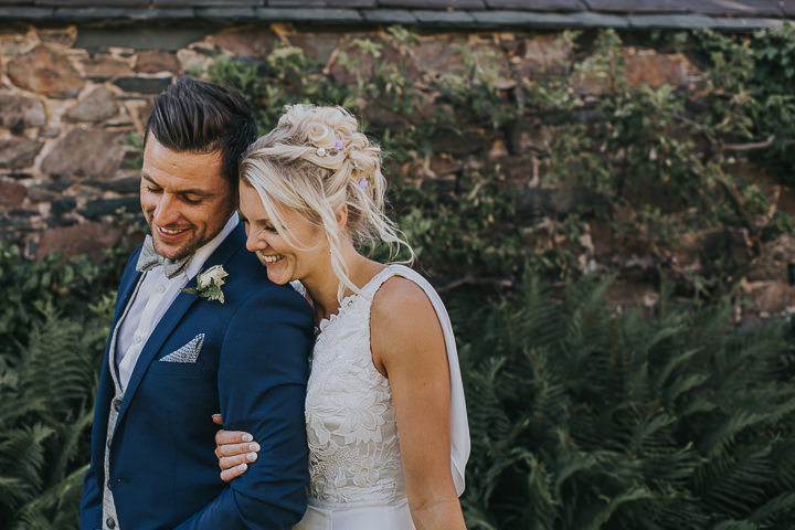 Boho Wedding Dress Leicester : Elegant and relaxed lilac wedding in leicester city centre
