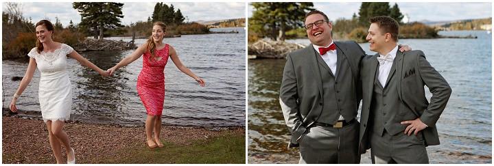Autumn Beach Wedding In Minnesota By Studio Laguna