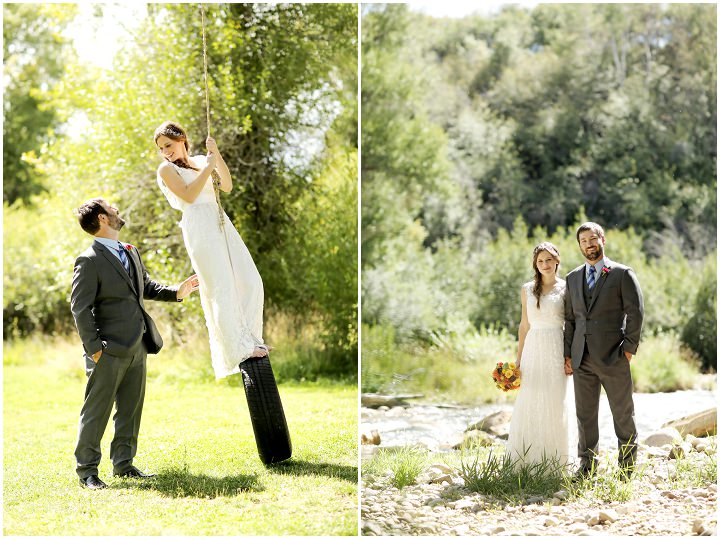 13 Outdoor Utah Wedding With a BHLDN Dress by Logan Walker Photography